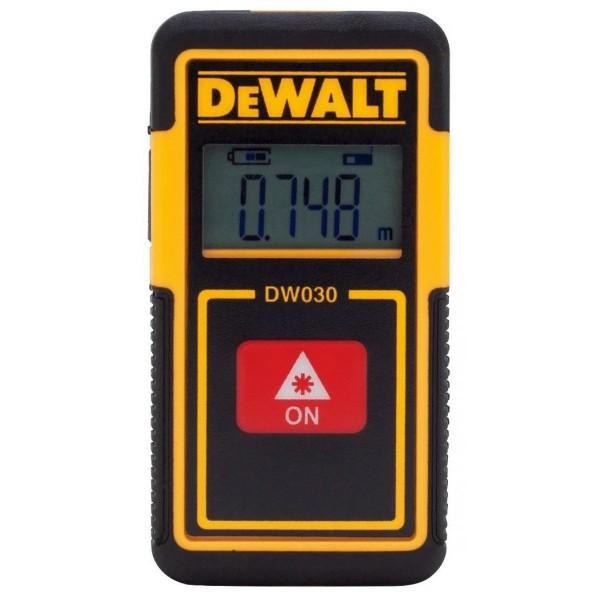 DeWALT Misuratore di distanze laser TLM30, 9 m - DW030PL-XJ