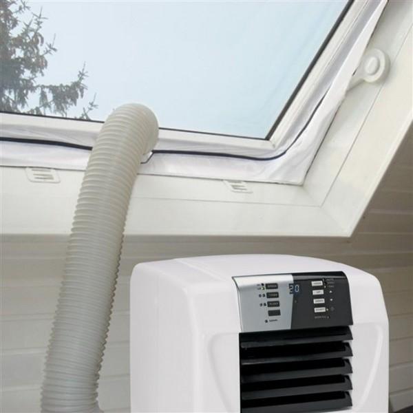 Einhell Fensterabdichtung Hot Air Stop Spezialfolie für alle Klimaanlagen