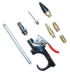 Güde Compressa pistole di soffiaggio dell'aria set - 7 pezzi