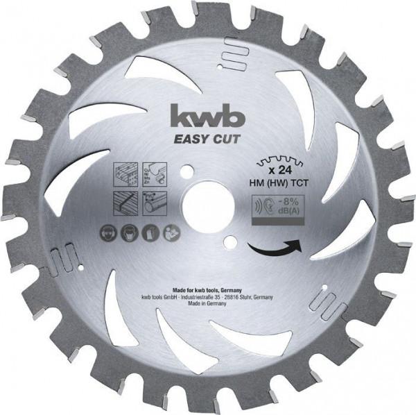 KWB EASY CUT, dun zagend cirkelzaagblad, met hardmetaal versterkt - 587938