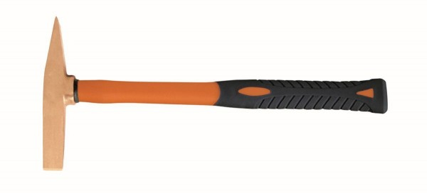 Bahco Martello scrostatore antiscintilla Rame Berillio, manico in fibra di vetro, 280 mm - NSB512-200-FB