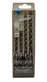 Wolfcraft Forets à béton pour perforateurs SDS-Plus