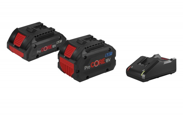 Bosch Professional Starter-Set 1 x ProCORE18V 4.0Ah + 1 x ProCORE18V 8.0Ah + GAL 1880 CV - 1600A01BA8