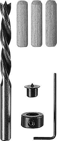 Bosch Holzdübel-Set, 32-teilig, 8 mm, 40 mm
