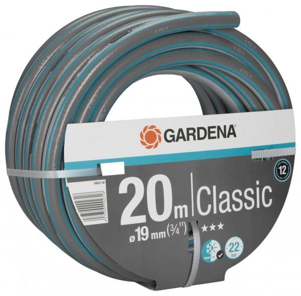 """Gardena Classic Schlauch, 19 mm (3/4""""), 20 m, ohne Systemteile"""