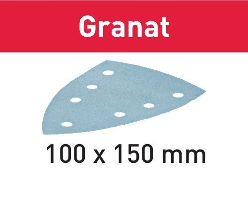 Festool foglio abrasivo STF DELTA/7 P120 GR/10 Granat - 497133