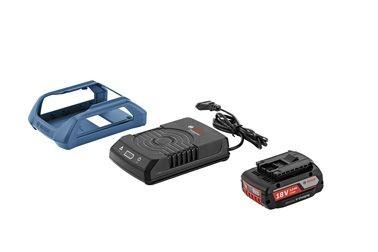 Bosch Professional Akku Wireless Charging System, 1 x GBA 18 Volt 2,0 Ah MW-B + GAL 1830 W