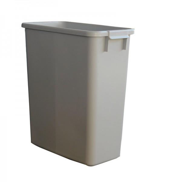 GRAF Afval-/recyclingcontainer 60l grijs kunststof L555xB285xH590mm