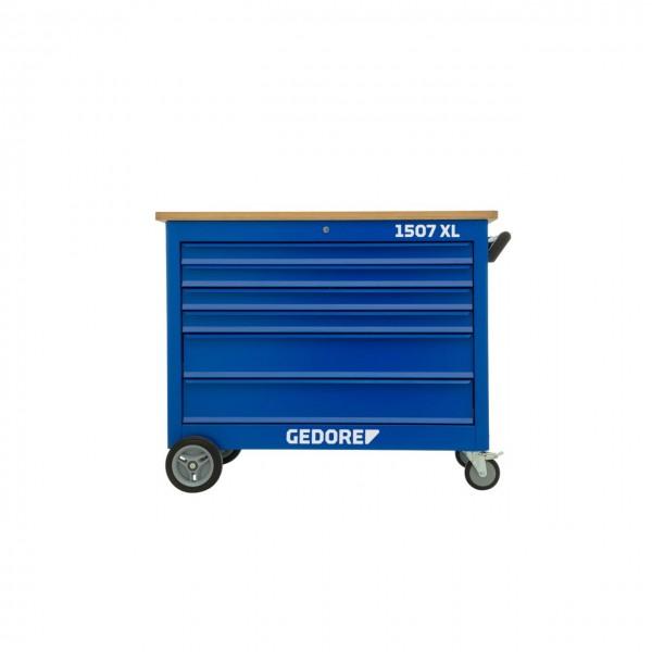 Gedore Rollwerkbank mit Werkzeugsortiment 308-teilig - 1507 XL-TS-308