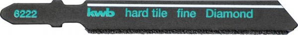 KWB Decoupeerzaagbladen DIAMANT, tegel- en keramiekbewerking - 622220