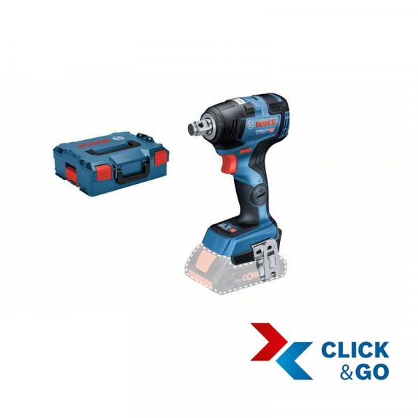 Bosch Avvitatori a massa battente a batteria GDS 18V-200 C, senza batteria e caricabatteria, L-BOXX - 06019G4301