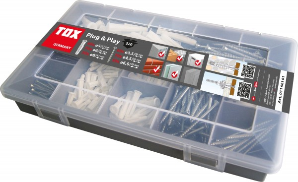 TOX Standardsortiment Plug & Play 320 tlg. - 1190101