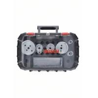 Bosch Professional Set per elettricisti Progressor for Wood and Metal da 9 pz., 19-83 mm - 2608594190