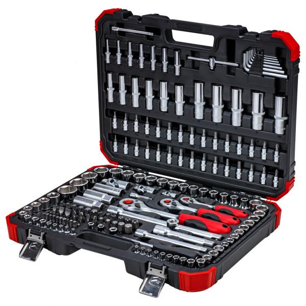 """Gedore red Set di chiavi a bussola 1/4"""" + 3/8"""" + 1/2"""", 172 pezzi - 3300058"""