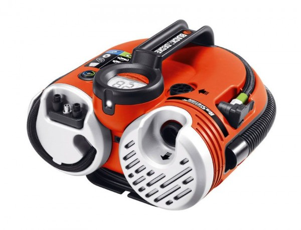Black & Decker Akku Luftpumpe Pumpstation Kompressor 11 bar ASI500