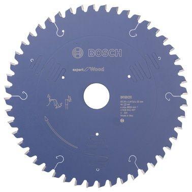 Bosch Lama per sega circolare Expert for Wood, 216 x 30 x 2,4 mm, 48 denti