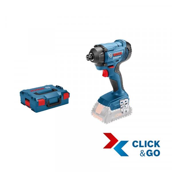 Bosch Professional Akku-Drehschlagschrauber GDR 18V-160, ohne Akku und Ladegerät, L-BOXX - 06019G5104