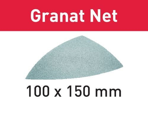 Festool Abrasivo a rete STF DELTA P320 GR NET/50 Granat Net - 203327