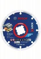 Bosch Disco de diamante para metal X-LOCK Best for Metal 115 x 22,23 mm - 2608900532