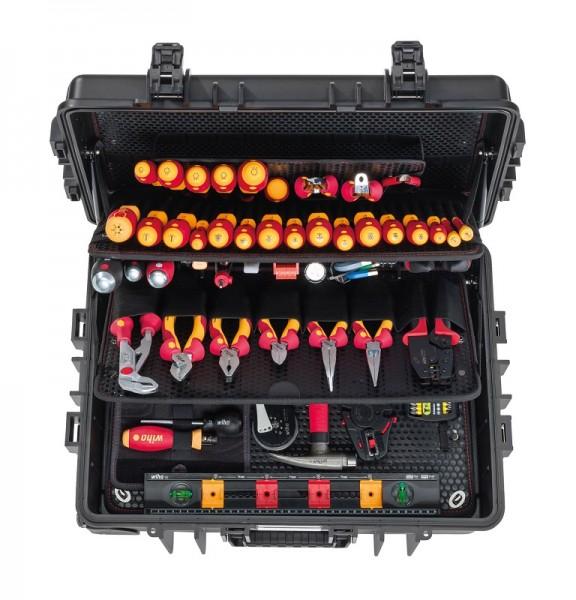Wiha Gereedschapset elektricien Competence XXL II assorti 115-delig in koffer (42069)