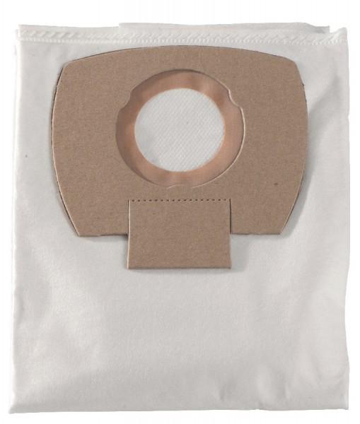 Metabo 5 x Vlies-Filterbeutel - 25/30 l, für ASA 25 L PC , ASA 30 L PC Inox