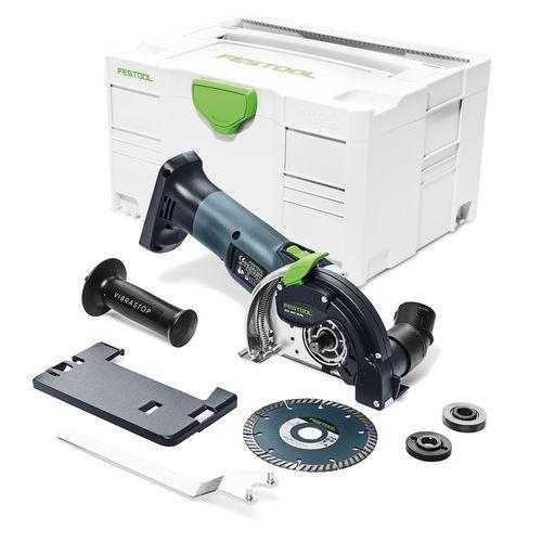 Festool Système de tronçonnage sans fil à main levée DSC-AGC 18-125 FH Li EB-Basic, sans batterie, sans chargeur - 575759