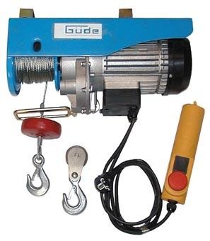 Güde Elektrischer Seilzug GSZ 300/600