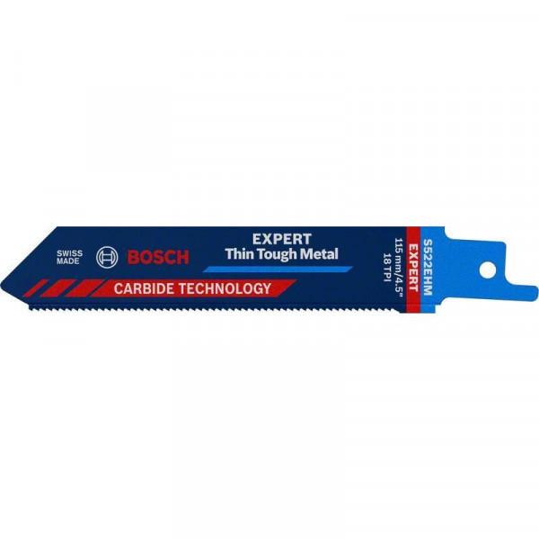 Bosch Professional EXPERT 'Thin Tough Metal' S 522 EHM Säbelsägeblatt, 1Stück. Für Säbelsägen - 2608900359
