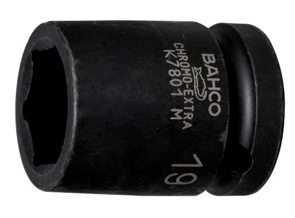 """Bahco EMBOUT DE DOUILLE 1/2 MACHINE, 6 PANS, 22MM - K7801M-22"""""""