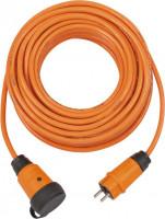 Brennenstuhl Verlengsnoer IP44 (25m kabel, oranje, H07BQ-F 3G2,5) - 9162250200