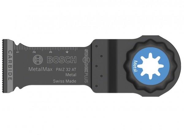 Bosch Professional Tauchsägeblätter PAIZ 32 AT MetalMax, 50 x 32 mm, 10 Stück - 2608664495