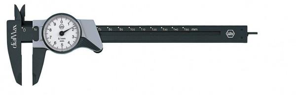 Wiha Uhrmessschieber dialMax, Ablesung 0,1 mm (411 210 2) 150 mm - 27082