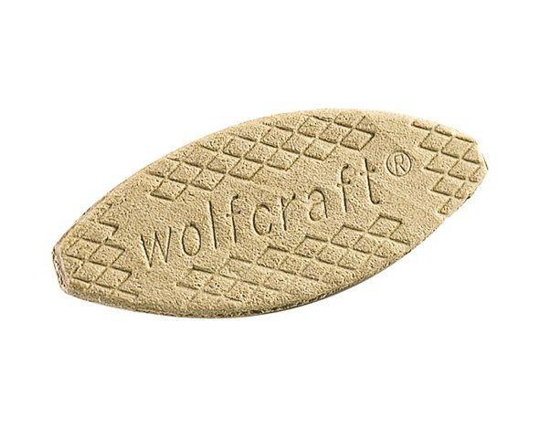 Wolfcraft Lamelles d'assemblage, 61 x 23 x 4 mm, 50 pce - 2923000