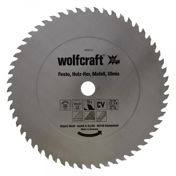 Wolfcraft Lame de scie circulaire CV, 56 dents