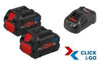Bosch 2 batteries ProCORE18V 5.5Ah + GAL 1880 CV - 1600A0214C