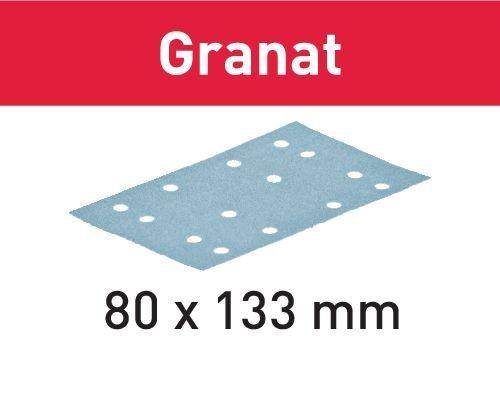 Festool Schleifstreifen STF 80x133 P80 GR/10 Granat - 497128