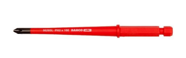 Bahco Lames interchangeables étroites, isolées, pour vis Phillips - 8620SL-2P