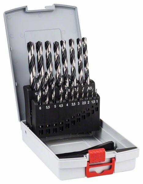 Bosch HSS Spiralbohrer PointTeQ - 19-teilige ProBox