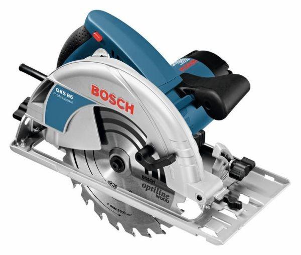 Bosch Professional Sierra circular portátil GKS 85 - 060157A000