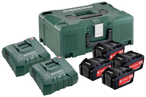 Metabo Basis-set 4 x 5.2Ah + 2 x ASC Ultra + Metaloc - 685106000