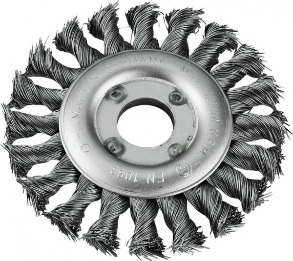 KWB AGGRESSO-FLEX® schijfborstel, staaldraad, gevlochten, ø 0,5 mm, ø 115 mm - 719530
