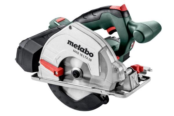 Metabo Sega circolare a batteria per metalli MKS 18 LTX 58, MetaLoc - 600771840