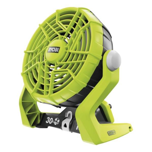 Ryobi R18F-0 Akku Ventilator, ohne Akku und Ladegerät - 5133002612