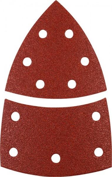 KWB QUICK-STICK schuurdriehoeken, HOUT & METAAL, edelkorund - 496108