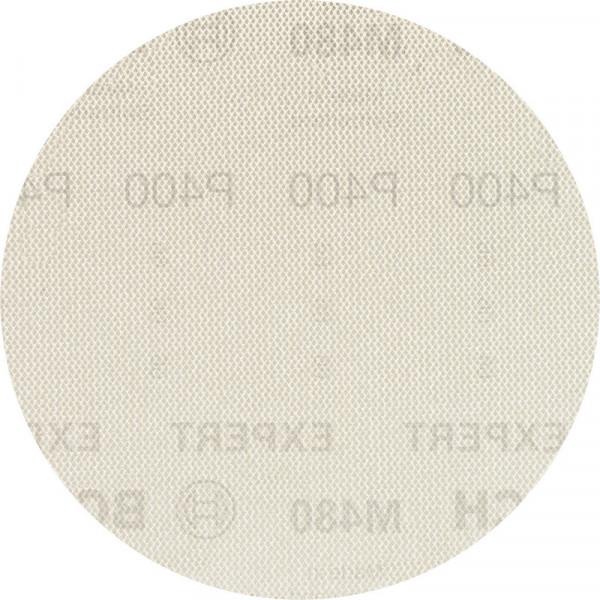 Bosch Professional EXPERT M480 Schleifnetz für Exzenterschleifer, 150mm, G 400, 50Stück - 2608900706