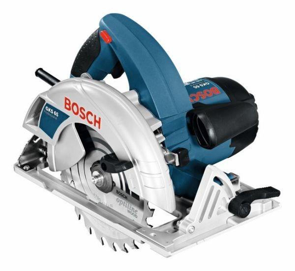 Bosch Professional Sierra circular portátil GKS 65, 1600 W - 0601667001