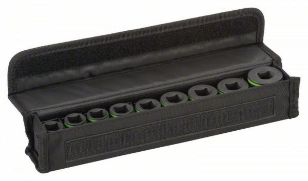 Bosch Douilles adaptables, set de 9 pièces 38 mm - 10, 11, 13, 17, 19, 21, 22, 24, 27 mm