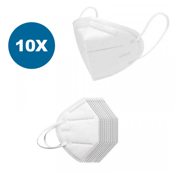 Masque respiratoire KN95 / N95, 10 pièces