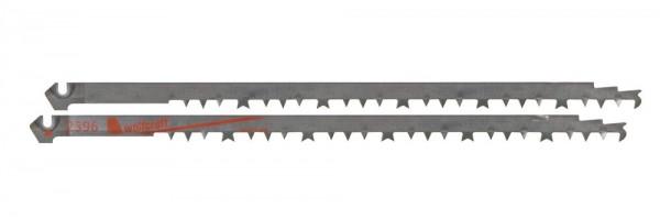 Wolfcraft Jeu de lames de scie sabre HCS /Denture rectifiée / Bois, plastique/ Sciage grossier