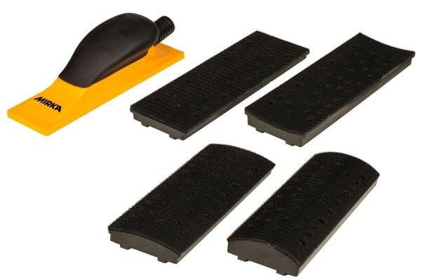 Mirka Handblock Kit 70x198mm Grip 40L Gelb - 8391520111